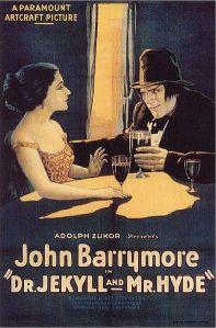 Dr. Jekyll and Mr. Hyde, cartel de la película de 1920
