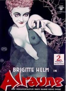 Cartel de la película Alraune (1928)
