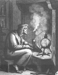 Johann Wolfgang von Goethe – Faust II, grabado alemán del siglo XIX