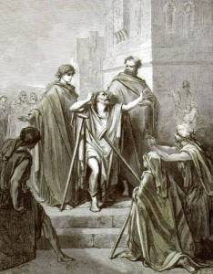 Gustave Doré – Curación de un paralítico (S. XIX)