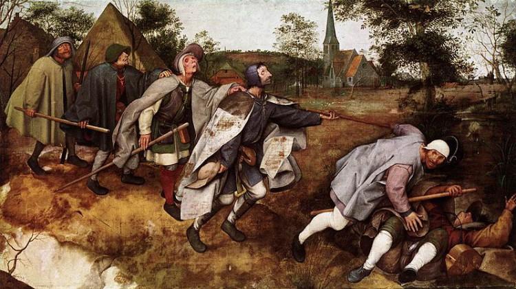 Pieter Bruegel el Viejo – La Parábola de los ciegos (1568)