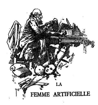 Gustave Pig - La Femme artificielle (1887)