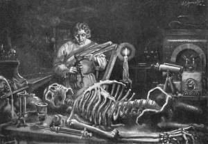 Mary Shelley - Frankenstein, or The Modern Prometheus, ilustración de la edición americana de 1922