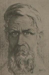 Ramón Acín Aquilué – Retrato de Silvio Kossti