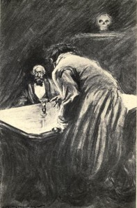 Robert Louis Stevenson - Strange Case of Dr Jekyll and Mr Hyde, ilustración de Charles Raymond Macaulay (1904)