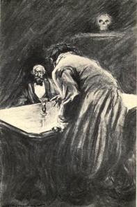 Robert Louis Stevenson - Strange Case of Dr Jekyll and Mr Hyde, ilustración de Charles Raymond Macaulay (1904)