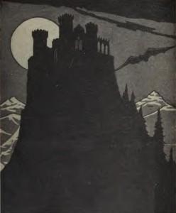Bram Stoker – Dracula, ilustración de la edición estadounidense de 1897