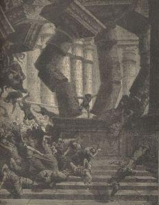 Gustave Doré - La Muerte de Sansón (1891)