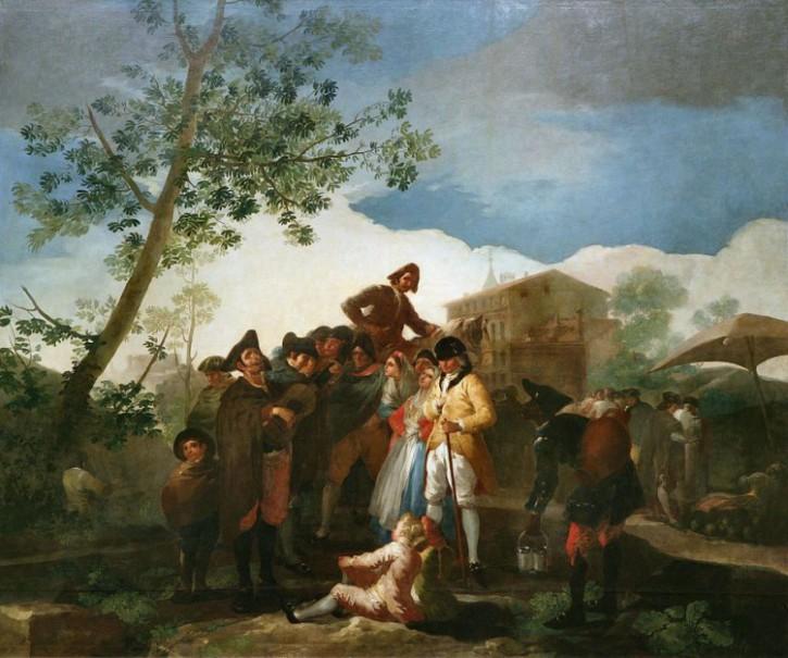 Francisco de Goya y Lucientes - El Guitarrista ciego (1778)