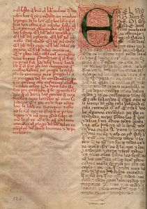 Don Juan Manuel - Íncipit del Conde Lucanor (Manuscristo, SS. XIV-XV)