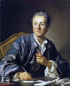 Louis-Michel van Loo – Retrato de Denis Diderot (1767)