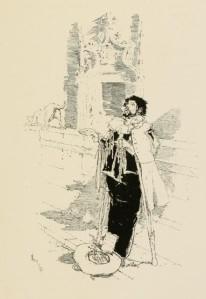 Francisco de Quevedo – El Buscón, ilustración de Daniel Vierge (1892)