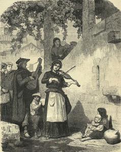 Valeriano Domínguez Bécquer - La Fiesta de los ciegos (1883)