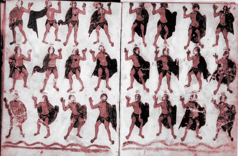 Bedae tractatus de temporibus : accedunt complures tabulae ad computum ecclesiasticum pertinentes, manuscrito del S. XIV
