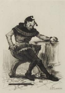 Victor Hugo - Le Roi s'amuse, ilustración de J.P. Laurens (1832)