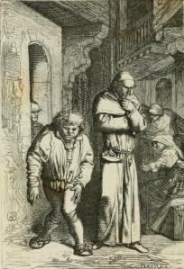 Victor Hugo – Notre-Dame de Paris, ilustración de Yon y Perrichon (1865)