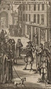 Franz Ertinger - Lunetes pour les Quinze-Vingts (S. XVIII)