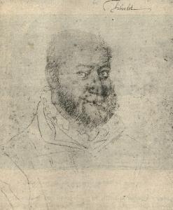 Triboulet, bufón del rey Francisco I, hacia 1530