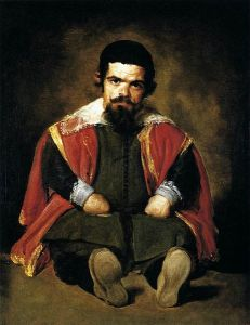 Diego Velázquez - El bufón don Sebastián de Morra (1645)