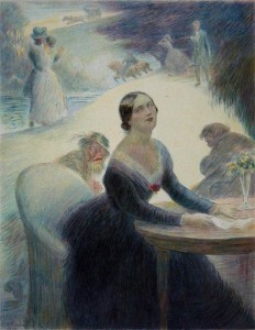 Gustave Flaubert – Madame Bovary, ilustración de Charles Léandre (1931)