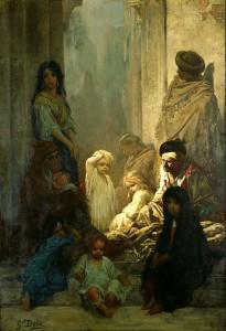 Gustave Doré – La Siesta, memoria de España (ca.1868)
