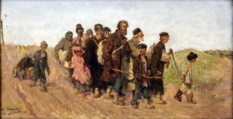Sergey Vasilyevich Ivanov – Ciegos (1883)