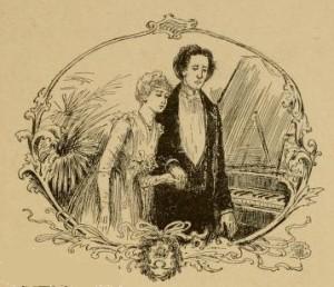 Vladímir Korolenko – El Músico ciego, ilustración de Edmund H. Garrett (1891)