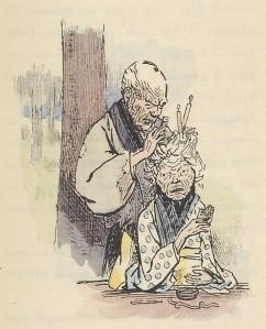 Pierre Loti – La Chanson des vieux époux, ilustración de Henry Somm (1899)