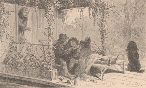 Hector Malot – Sans famille, ilustración de Émile Bayard (1883)