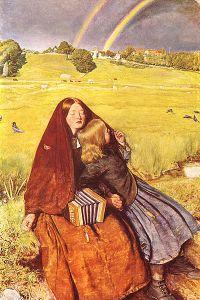 John Everett Millais - La Joven Ciega (1856)