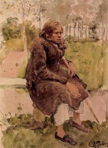 Ilya Repin – Jorobado (1880)