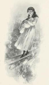 Laura Elizabeth Howe Richards – Melody, ilustración de Frank T. Merrill (1896)