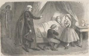Comtesse de Ségur – François le bossu, ilustración de Émile Bayard (1879)