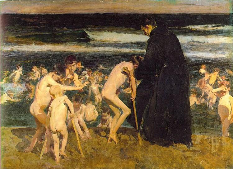 Joaquín Sorolla – Triste Herencia (1899)