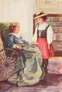 Johanna Spyri – Heidi, ilustración de de la edición americana de 1899