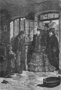 Émile Zola – Germinal, ilustración de Jules Férat (1885-1886)