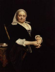 Dinah Maria Mulock Craik, retratada por Hubert von Herkomer (S. XIX)