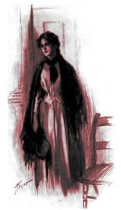 Elizabeth Gaskell – Mary Barton, ilustración de C. M. Relyea (1907)