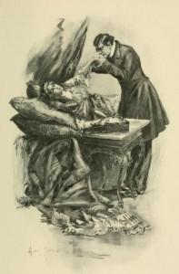 Anthony Trollope – Barchester Towers, ilustración de Hugh M. Eaton (1902)