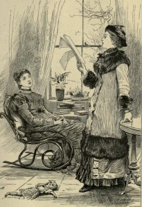 Charlotte Mary Yonge - The Clever Woman of the family, ilustración de Adrian Stokes (1902)