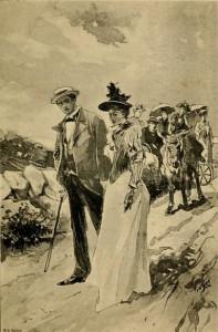 Charlotte Mary Yonge - De erfgenaam van Redclyffe, edición ilustrada holandesa de 1913