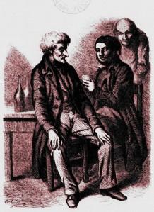 Honoré de Balzac – Facino Cane, ilustración de E. Lampsonius (1851-1853)