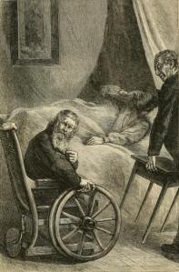 Wilkie Collins – Miserrimus Dexter, en The Law and the Lady, edición ilustrada (1875)