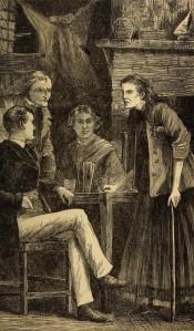 Wilkie Collins – The Moonstone, edición ilustrada (1900)