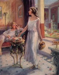 Edward Bulwer-Lytton – The last Days of Pompeii, ilustración de F.C. Yohn (1926)