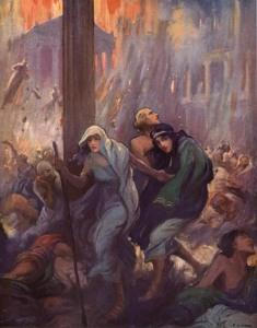 Edward Bulwer-Lytton – The last Days of Pompeii, ilustración de F.C. Yohn (1926)