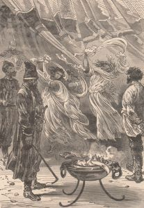 Jules Verne – Michel Strogoff, ilustración de Jules Férat (1905)