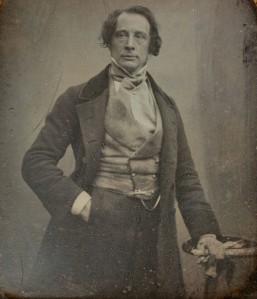 Charles Dickens, retratado por Antoine Claudet en 1852