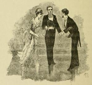 Léon Cladel - Madame la Générale à la jambe de bois, ilustración de Gambard (1885)