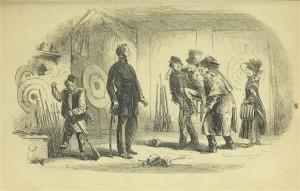 Charles Dickens – Bleak House, ilustración de Phiz (1853)